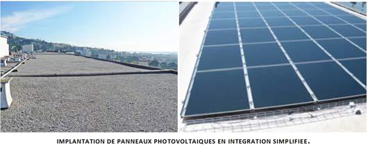 Implémentation photovoltaïque en intégration simplifiée