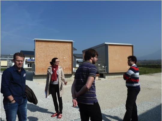 Réunion du Consortium SmartBlind au CEA/INES